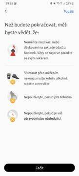 Samsung Health Monitor 4 upozornění