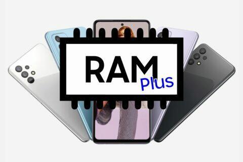 Samsung RAM Plus virtuální operační paměť Galaxy A52s 5G