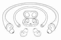 Samsung vodotěsná sluchátka patent