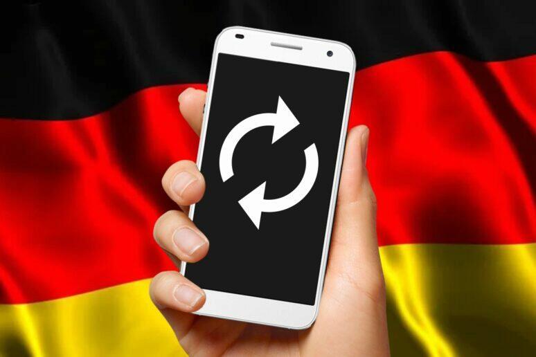 sedmileté updaty mobilů Německo