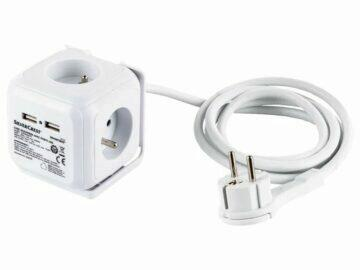 SILVERCREST Zásuvková kostka s USB porty