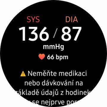 tlak krve výsledek