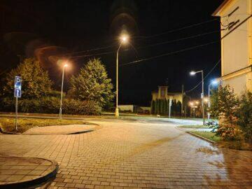 Vivo X60 Pro primární fotoaparát noc