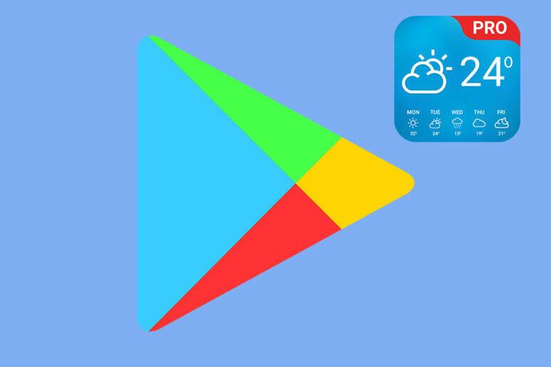 weather app pro google play