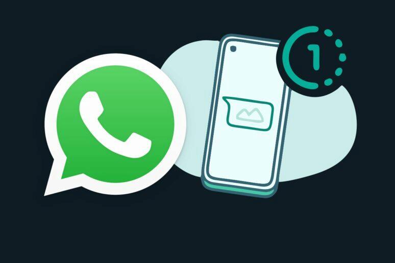 WhatsApp mizející fotky videa test
