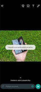 WhatsApp mizející fotky videa test odeslání