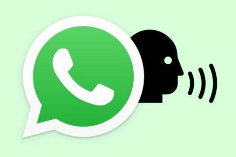 WhatsApp převod hlasové zprávy na text