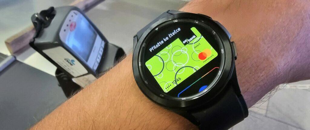wide platby NFC Google Pay Wear OS