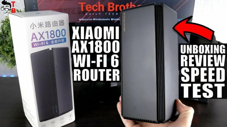 Xiaomi AX1800 Wi-Fi 6 Router - REVIEW, Unboxing, Speed Test