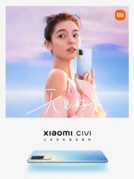 Xiaomi Civi informace banner 2