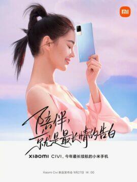Xiaomi Civi informace banner 3
