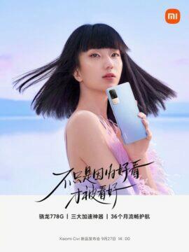 Xiaomi Civi informace banner 4