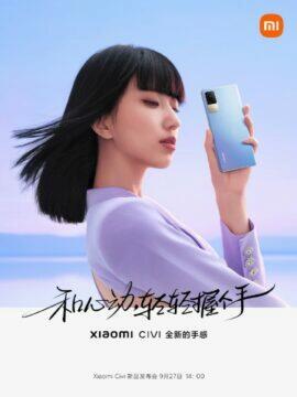 Xiaomi Civi informace banner 5