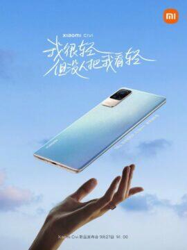 Xiaomi Civi informace banner 6