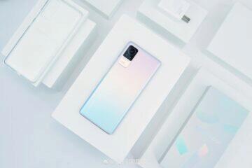Xiaomi Civi informace render záda růžová