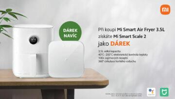 Xiaomi Mi Smart Air Fryer 3.5L ČR akce Mi Smart Scale 2