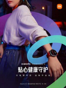 Xiaomi Watch Color 2 hodinky