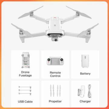 Zbrusu nový dron FIMI X8 SE 2022 obsah