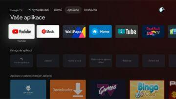 ADB složka 4a Google TV menu hotovo