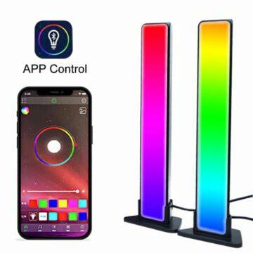 Ambientní RGB panely za televizi či monitor aplikace