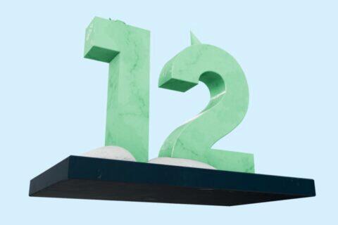 Android 12 3D socha AR