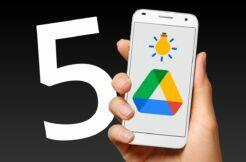 aplikace Google Disk Drive 5 tipů