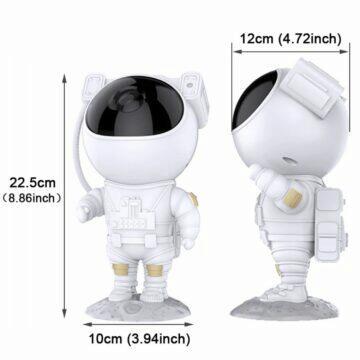 Astronaut, promítač galaxie