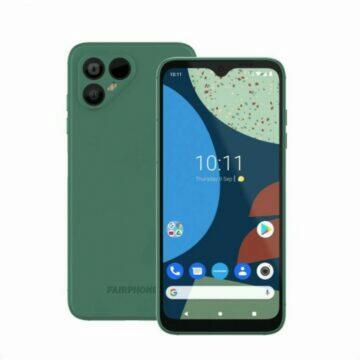 Fairphone 4 zelená
