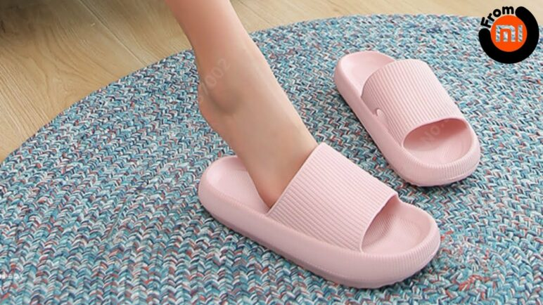 Fashionable Xiaomi Slippers for Women and Men On a Thick Platform