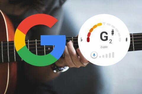 Google aplikace tuner ladička