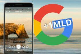 Google Lens miliarda stažení Obchod Play