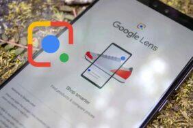 Google Lens vyhledávání doplňkový text