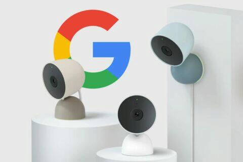 Google Nest Cam Indoor 2021
