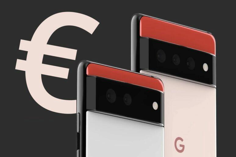 Google Pixel 6 cena leták