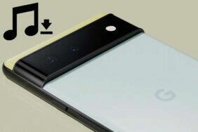 google pixel 6 zvuky