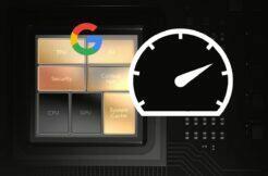 Google Tensor Pixel 6 benchmarky
