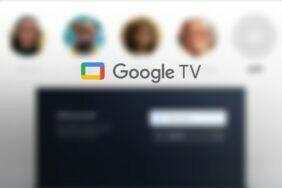 Google TV přepínání uživatelských profilů