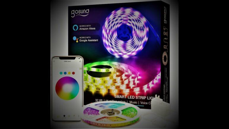 Gosund Smart LED Light Strip Google and Alexa Ready