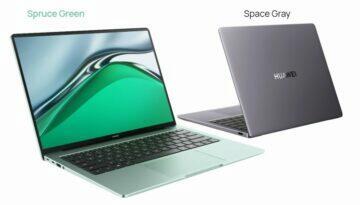 Huawei MateBook 14s barvy