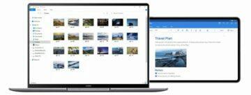 Huawei MateBook 14s druhý monitor