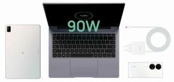 Huawei MateBook 14s obsah balení