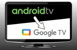 instalace Google TV do Android TV návod