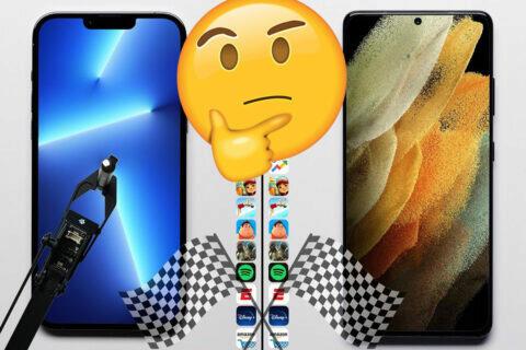 iPhone 13 Pro Max vs. Galaxy S21 Ultra