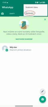 Jak smazat WhatsApp účet snadno