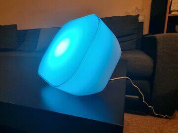 LIDL LivarnoLux dekorativní světlo Mood Light modrá