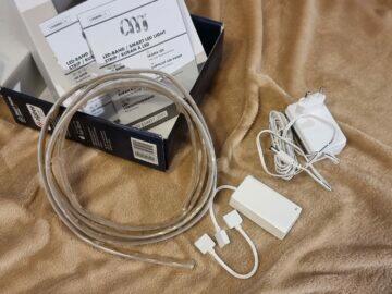 LIDL LivarnoLux RGB LED pásek balení obsah