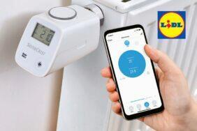 LIDL Smart Home termohlavice termostatická hlavice Zigbee Silvercrest