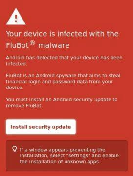 Malware FluBot