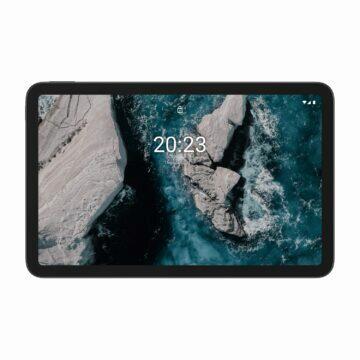 Nokia T20 tablet displej