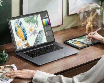 nový laptop huawei